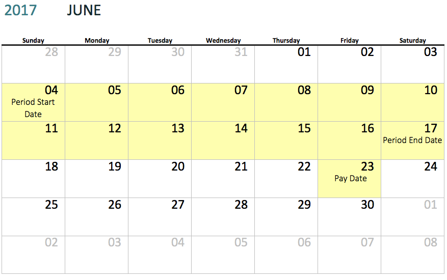 Creating a Pay Schedule – Knowledge Center