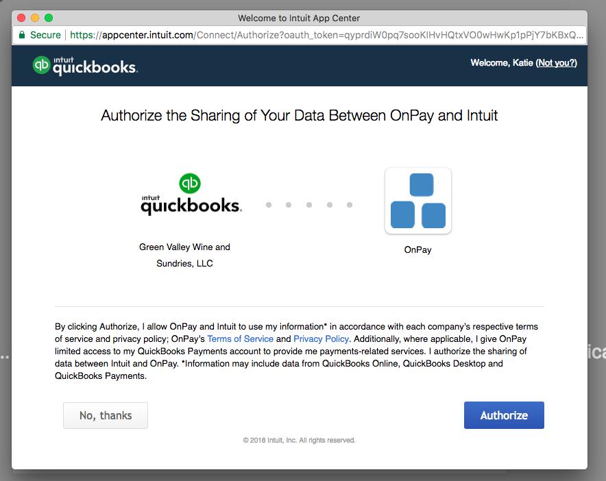 QuickBooks Online Integration – Knowledge Center