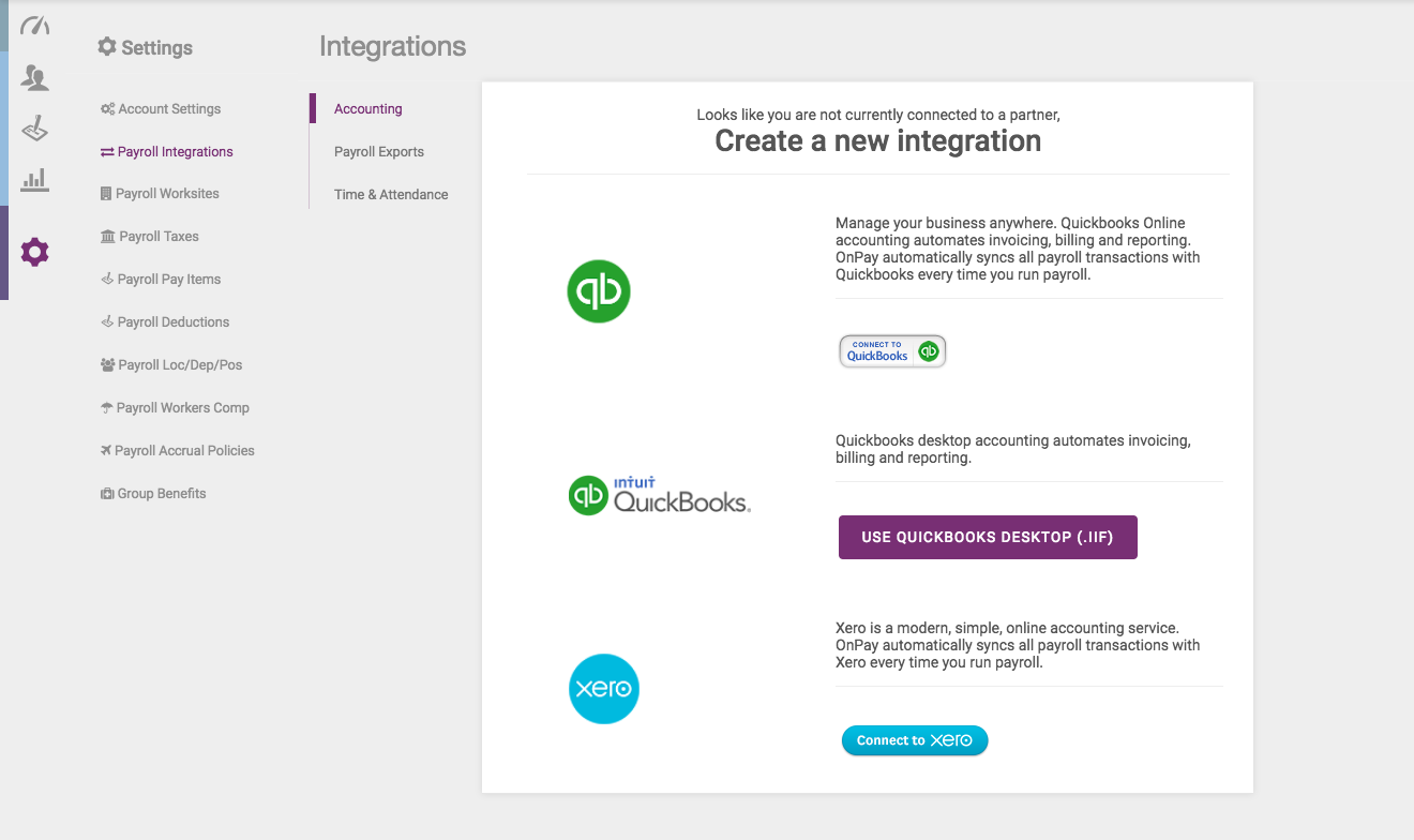 Xero Integration – Knowledge Center